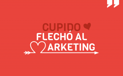 Cupido flechó al marketing