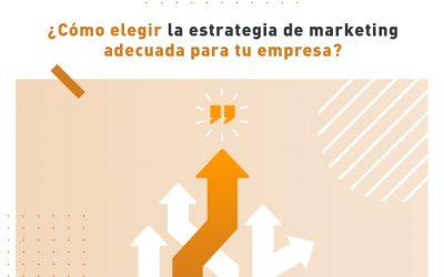 ¿Cómo elegir la estrategia de marketing adecuada para tu empresa?